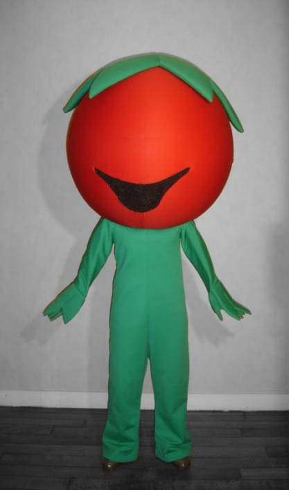 Création costume mascotte Multicréation, Paris