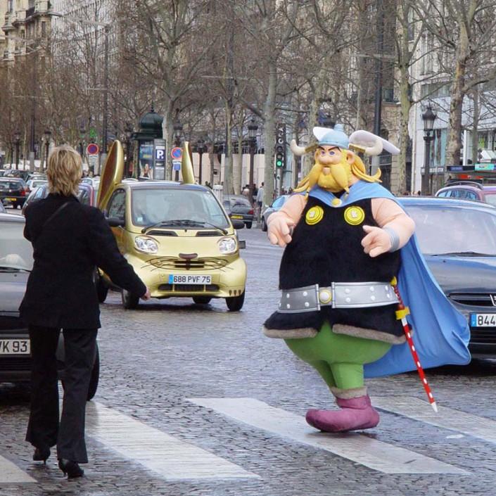 Héros et Mascottes Multicréation, Paris